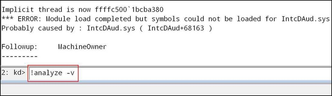 Crash Dump Analysis - Concurrency