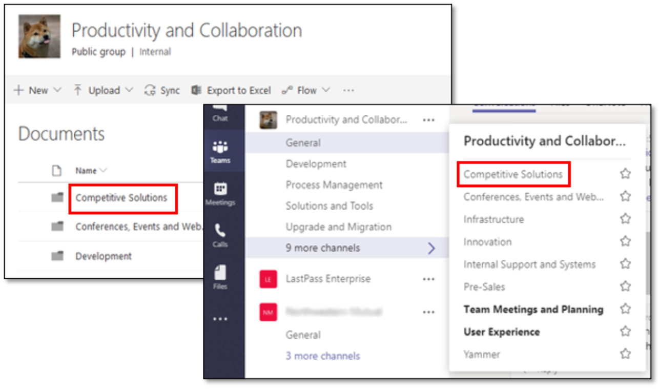 SharePoint Integration with Teams - Concurrency