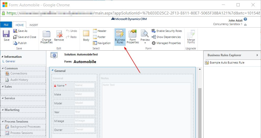 No-Code Configurations for Dynamics CRM – Part 1 - Concurrency