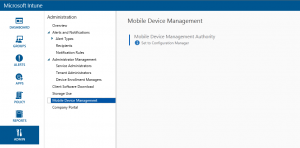 Reset Microsoft Intune's Mobile Device Management Authority